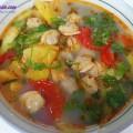 Cách làm món ốc nấu chuối đậu thơm ngon tại nhà, canh ngao nấu dứa