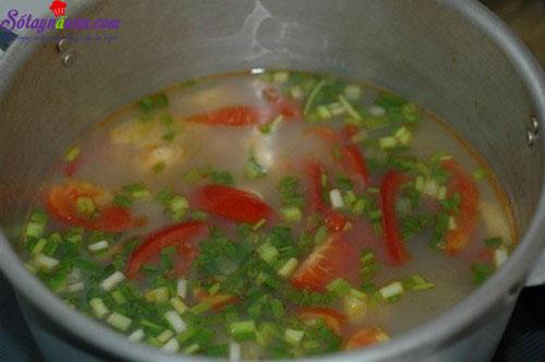 canh ngao nấu dứa 6