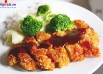 Thịt gà rán kiểu Nhật giòn rụm vàng ươm