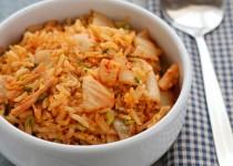 Cách làm cơm rang Kim chi ngon như ngoài hàng