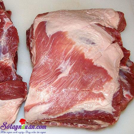 Hướng dẫn cách làm thịt xá xíu ngon khó cưỡng 1  Hướng dẫn cách làm thịt xá xíu ngon khó cưỡng huong dan cach lam thit xa xiu ngon kho cuong buoc 1