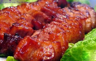cách làm món nhậu, Hướng dẫn cách làm thịt xá xíu ngon khó cưỡng 11