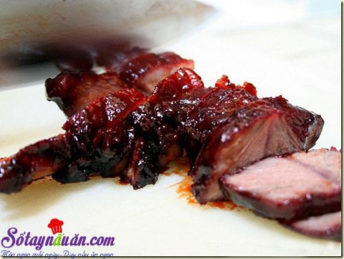 Hướng dẫn cách làm thịt xá xíu ngon khó cưỡng 8