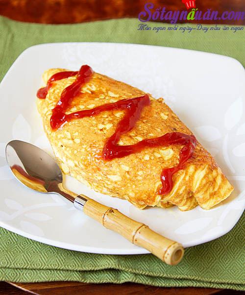 Hướng dẫn làm món trứng bọc cơm vừa ngon vừa đẹp mắt kết quả 1
