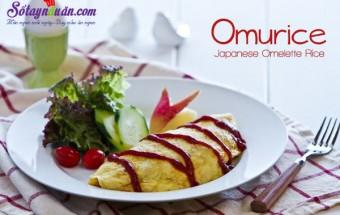 Nấu ăn món ngon mỗi ngày với Sữa tươi, Hướng dẫn làm món trứng bọc cơm vừa ngon vừa đẹp mắt thành phẩm