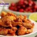 cách làm nấm nhồi thịt sốt cà chua thơm ngon hấp dẫn, Bí quyết làm thịt gà chiên xốt tương gừng ngon giòn rụm