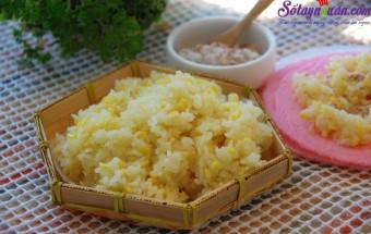 Nấu ăn món ngon mỗi ngày với Đỗ xanh, Bí quyết nấu xôi đậu xanh cực dẻo thơm ngon hết sẩy