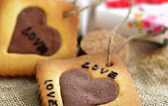 , cách làm cookie trái tim cho ngày Valentine 7