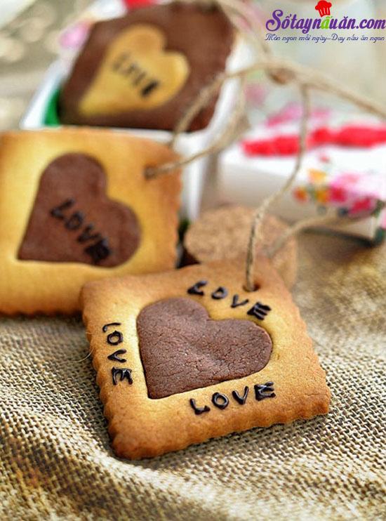 cách làm cookie trái tim cho ngày Valentine 7