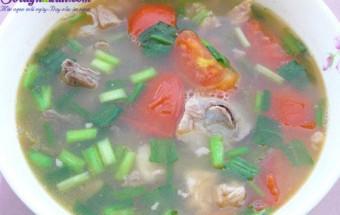ẩm thực việt, Cách làm món canh sườn nấu me chua cực ngon