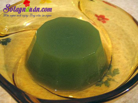 Cách làm thạch sữa chua trà xanh thơm ngon đẹp mắt