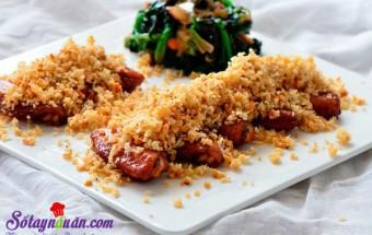 Nấu ăn món ngon mỗi ngày với Cánh gà, Hướng dẫn làm gà xóc tỏi giòn rụm tuyệt ngon 3