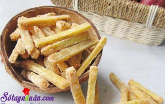 Nấu ăn món ngon mỗi ngày với Vani, Hướng dẫn làm mứt khoai lang giòn dai đón Tết kết quả