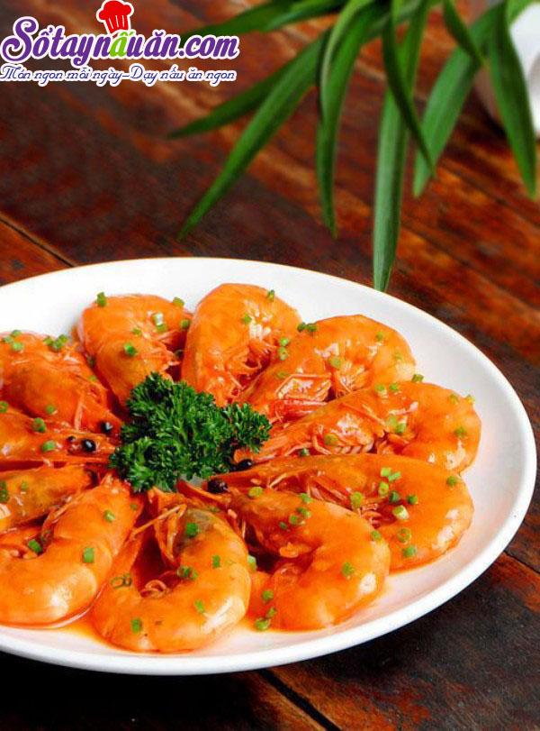 Hướng dẫn làm tôm rim chua ngọt bổ dưỡng thêm canxi kết quả 1