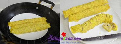 Hướng dẫn làm trứng cuộn thịt ngon và đẹp mắt 4