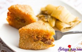 Món ăn ngày Tết, Tuyệt chiêu để có món bánh chưng rán giòn ngon ăn không ngấy