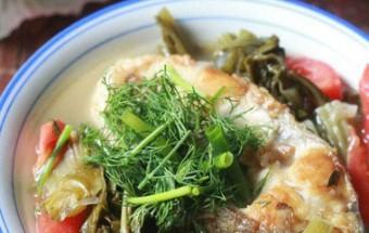 thì là, Tuyệt chiêu món canh cá nấu dưa chua thơm ngon tròn vị