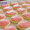 món ngon mỗi ngày, cách làm bánh quy phủ kem dâu tây 15