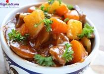 Cách làm món thịt bò hầm thơm ngon hấp dẫn
