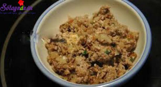 cách làm khoai tây thịt bò chiên xù 3