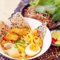 cơm rang trứng, cách làm mỳ quảng 6