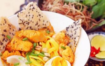 Nấu ăn món ngon mỗi ngày với Bột nghệ, cách làm mỳ quảng 6