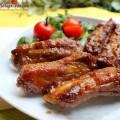 thịt lợn sốt tương, cách làm sườn xào chua ngọt 5