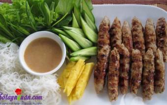 Nấu ăn món ngon mỗi ngày với Bột năng, cách làm nem lụi 7