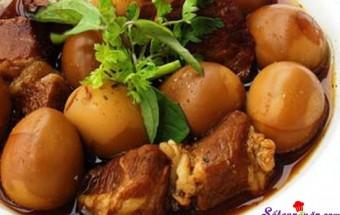 Nấu ăn món ngon mỗi ngày với Hành tím, cách làm thịt kho tàu theo hương vị miền nam