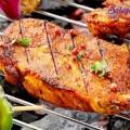cách nướng chả không cần lò than, cách ướp thịt nướng 3