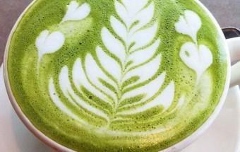 Đồ ăn vặt, matcha latte 1