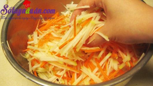 Hướng dẫn nộm su hào cà rốt ngon đúng điệu
