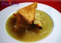 Hướng dẫn làm súp hành kiểu Pháp lạ miệng