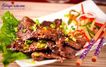 Nấu ăn món ngon mỗi ngày với Vừng rang, Bí quyết làm thịt nướng kiểu Hàn quốc thơm ngon đúng vị
