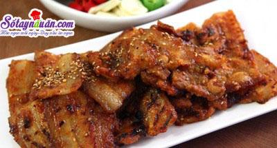 Bí quyết làm thịt nướng kiểu Hàn quốc thơm ngon đúng vị 6