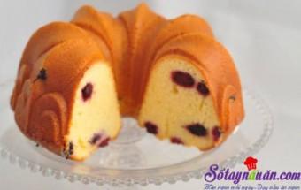 Bánh ngọt, Cách làm bánh bông lan dâu tằm ngon chảy nước miếng