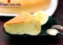 Cách làm bánh bông lan ngon chỉ bằng nồi cơm điện