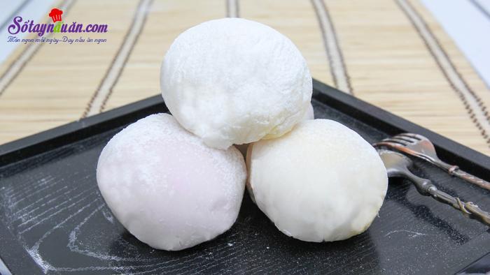 Cách làm bánh Mochi Nhật Bản ngon đúng điệu kết quả