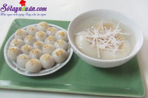 Cách làm bánh trôi chay cực ngon cho Tết Hàn thực kết quả