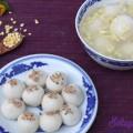 mì trứng xào, Cách làm bánh trôi chay cực ngon cho Tết Hàn thực thành phẩm