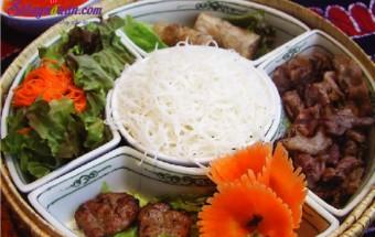 Nấu ăn món ngon mỗi ngày với Mùi tây, cách làm bún chả ngon tại nhà 5