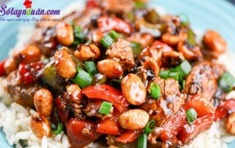 Nấu ăn món ngon mỗi ngày với Lạc rang, Cách làm gà xào kiểu Thái cực kỳ hấp dẫn