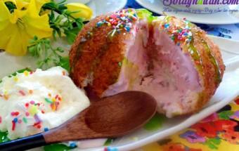 Món ăn vặt, Cách làm kem chiên ngon hơn cả ngoài hàng kết quả
