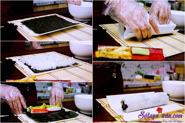 Cách làm sushi ngon tuyệt hảo và cực kì đơn giản 3.1