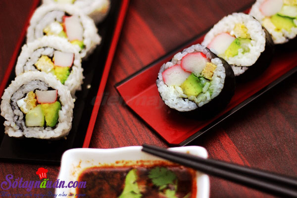 Cách làm sushi ngon tuyệt hảo và cực kì đơn giản kết quả