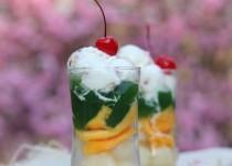 Cách làm thạch trà xanh trái cây giải nhiệt mùa hè