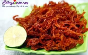 Nấu ăn món ngon mỗi ngày với Thịt bò, Cách làm thịt bò khô ngon như ngoài hàng