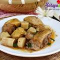 súp bí, Cách làm thịt gà kho măng cực ngon