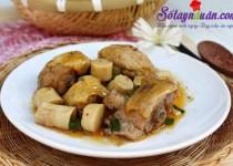 Cách làm thịt gà kho măng cực ngon