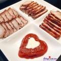 cách làm mì vịt tiềm, Cách làm thịt tẩm húng lìu áp chảo siêu ngon thành phẩm
